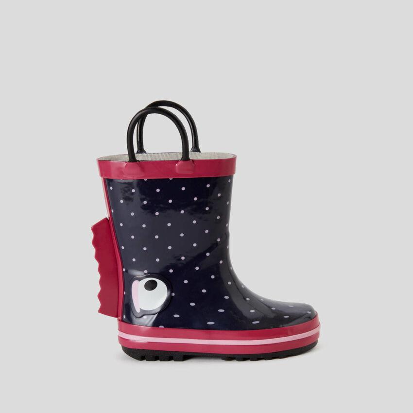 Stivali da pioggia in gomma