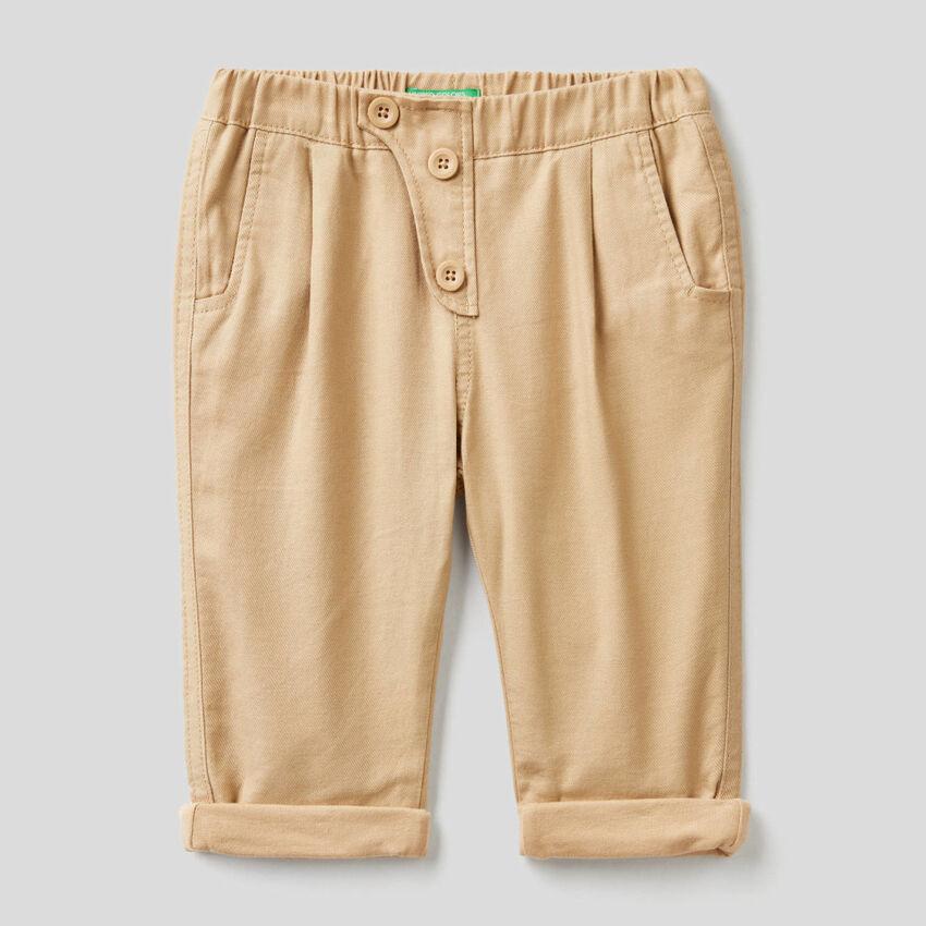 Pantaloni morbidi in flanella