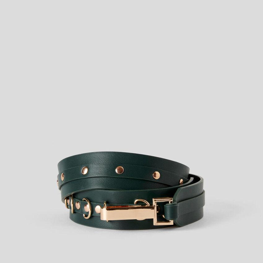 Cintura con borchiette
