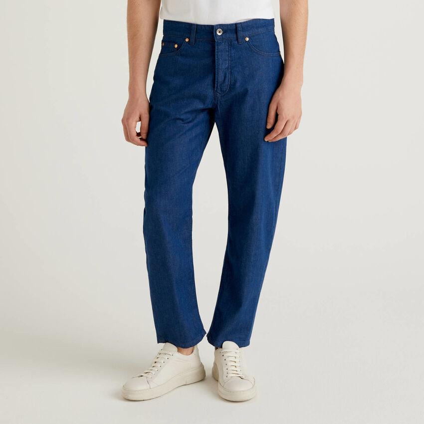 Jeans leggeri carrot fit