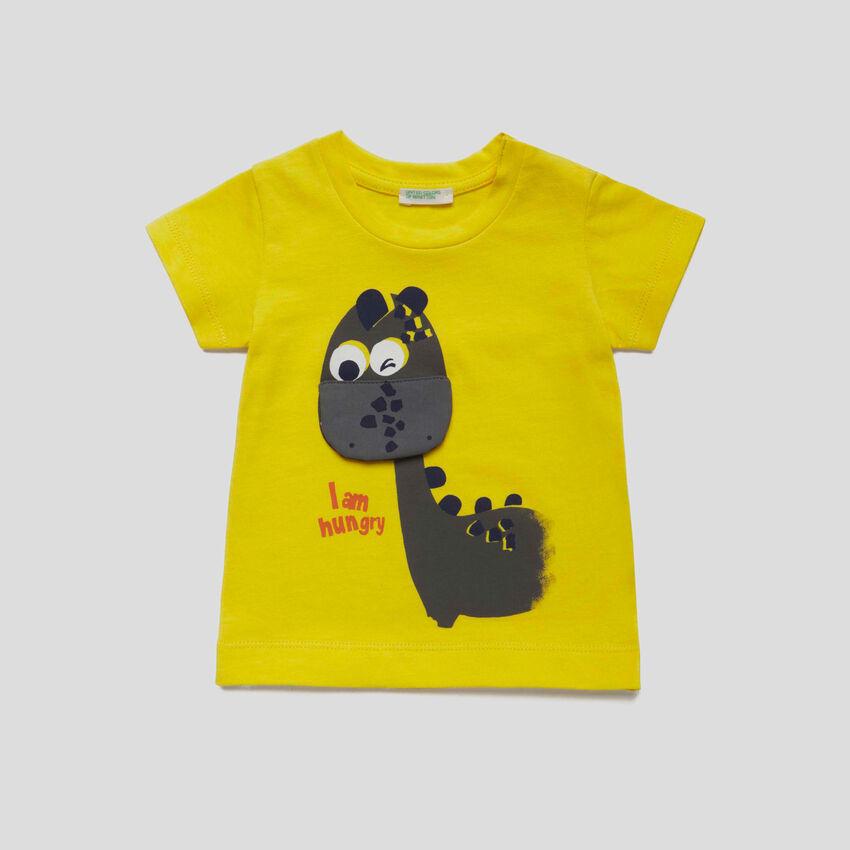 T-shirt con dettaglio decorativo
