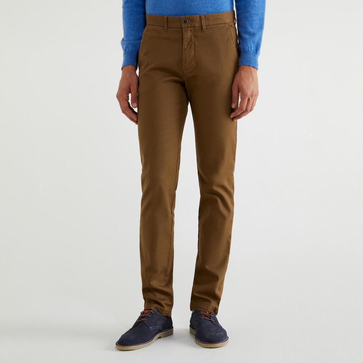 Chino in cotone slim fit