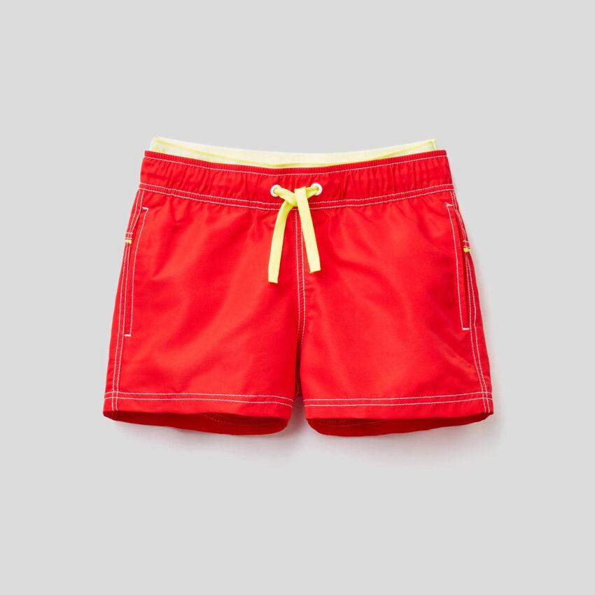 Costume boxer con doppia vita