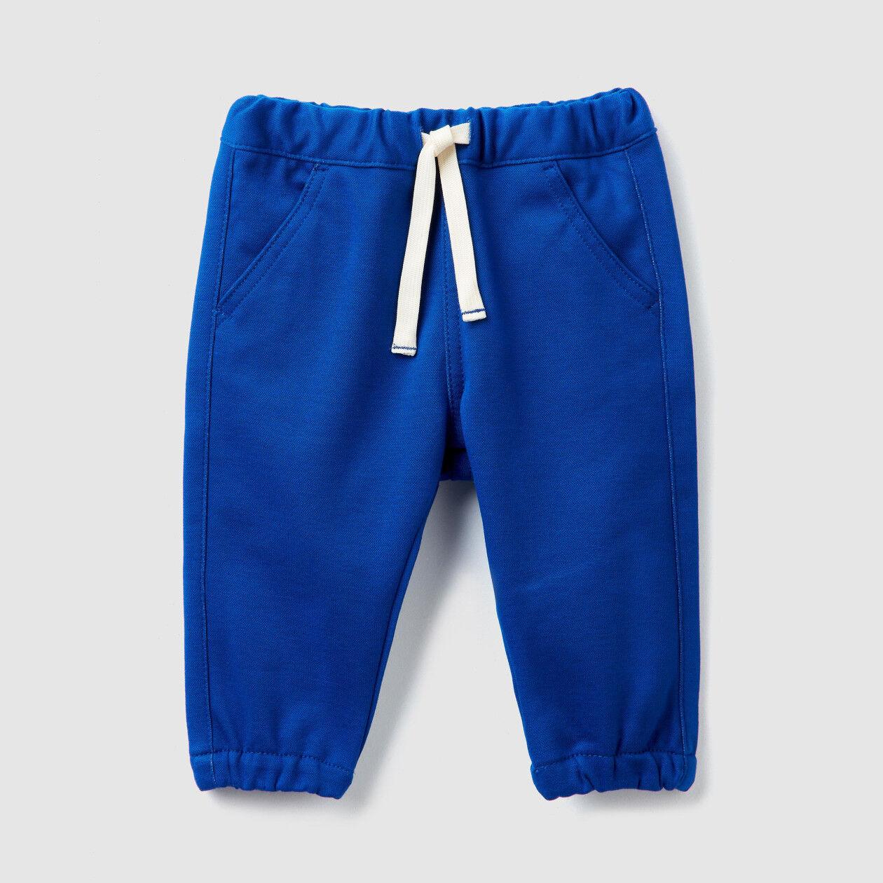 Pantaloni stretch con elatico