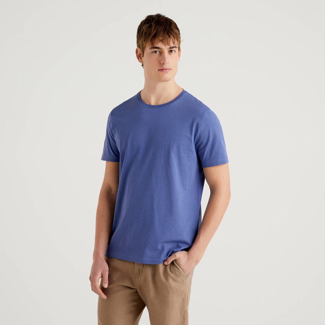T-shirt avio in puro cotone