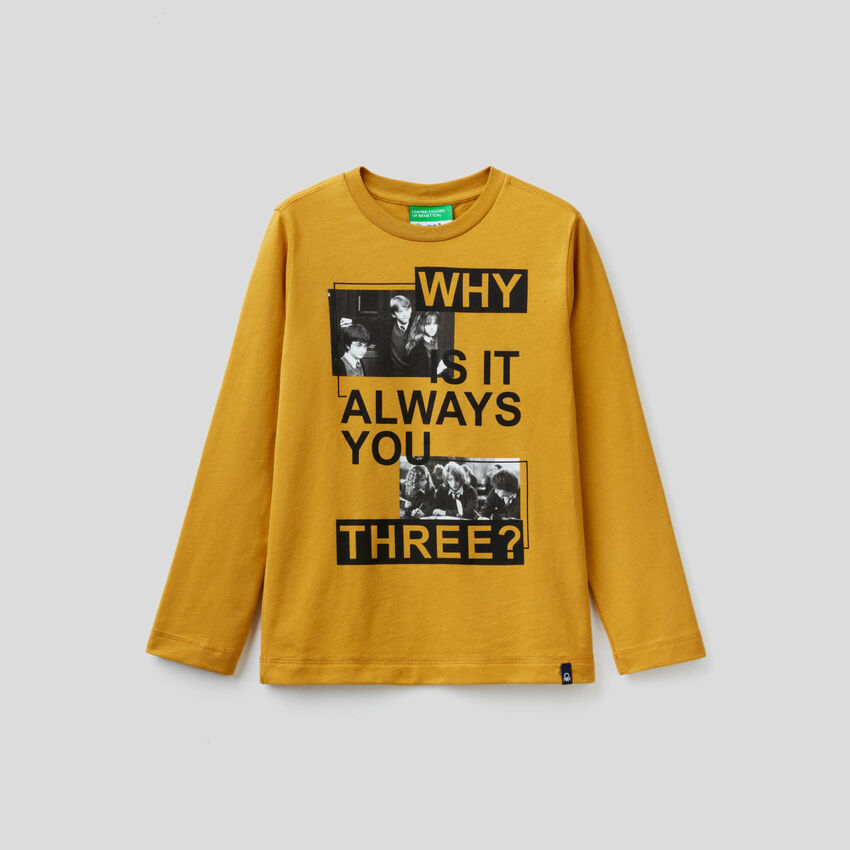 T-shirt con stampa Harry Potter