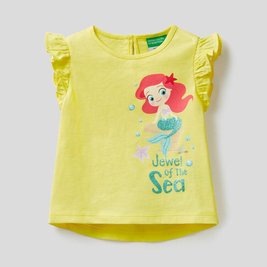 T-shirt con baby Principessa Disney