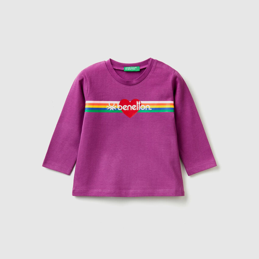 T-shirt in cotone biologico