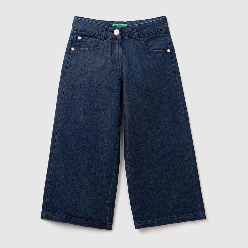 Pantaloni ampi di jeans