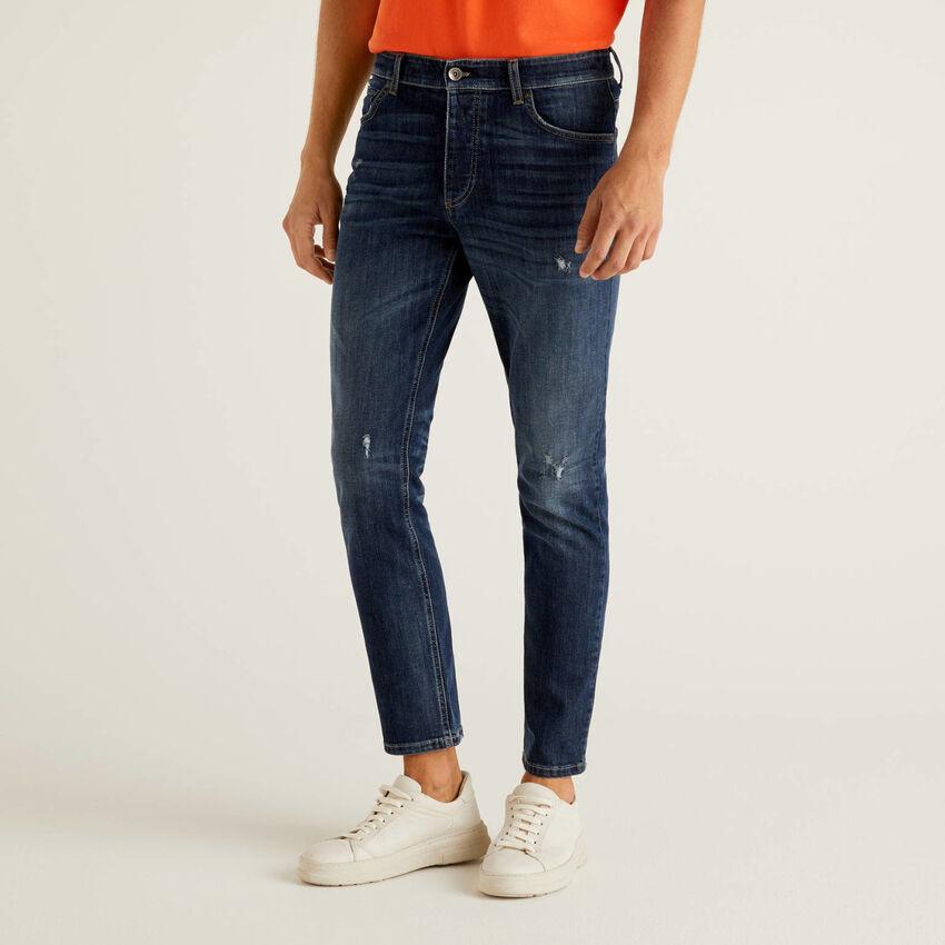 Jeans slim fit con vita regolare