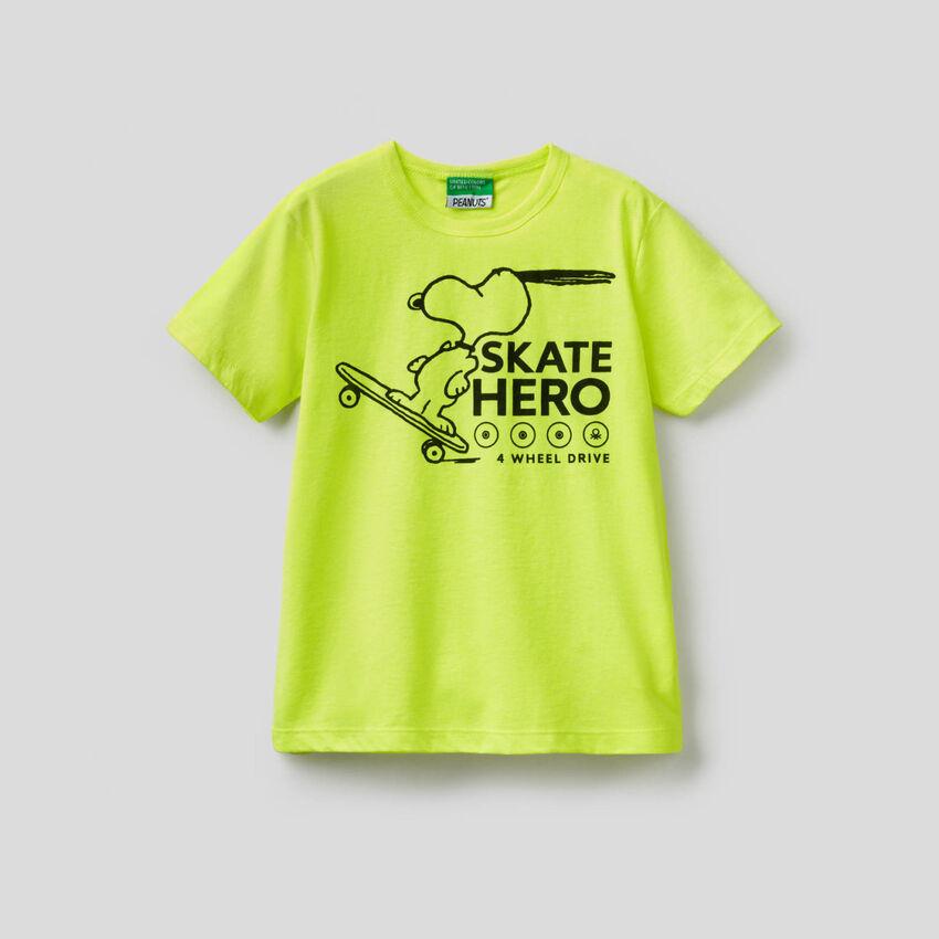 T-shirt con stampa Peanuts