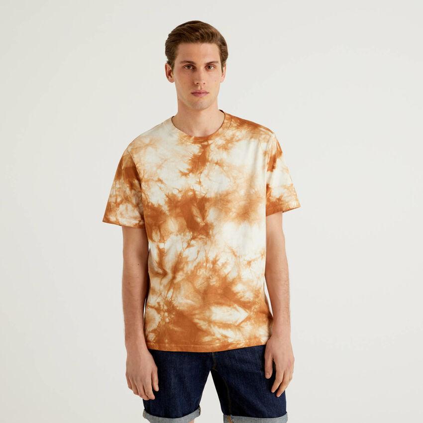 T-shirt effetto sfumato