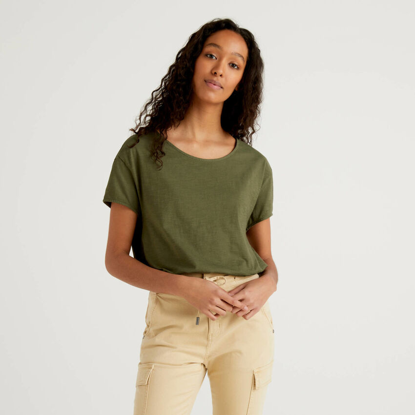 T-shirt oversize in puro cotone