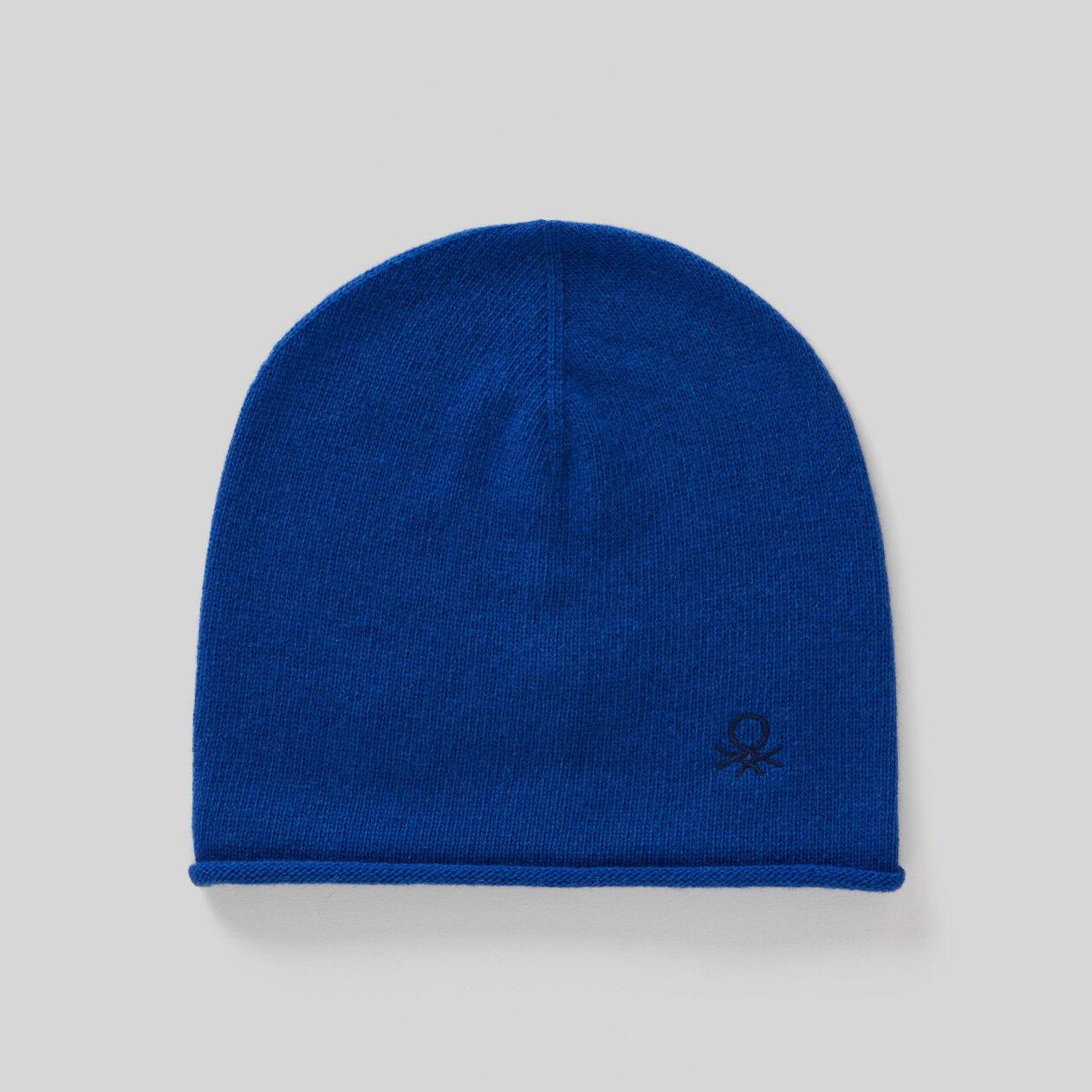 Cappello in lana e cashmere