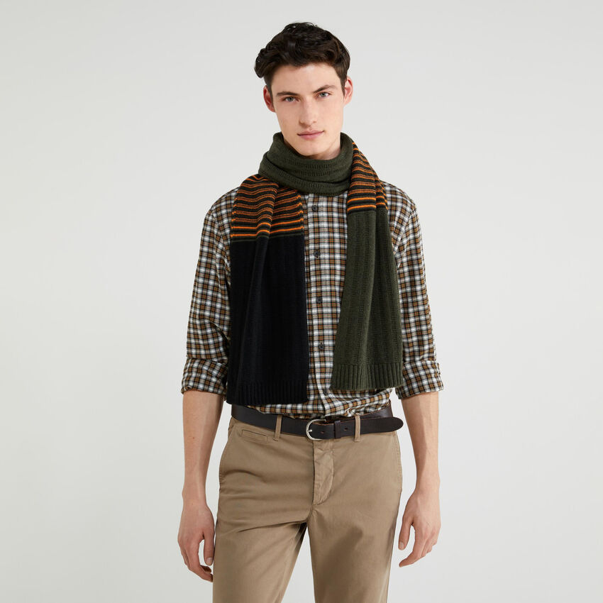 Sciarpa in maglia