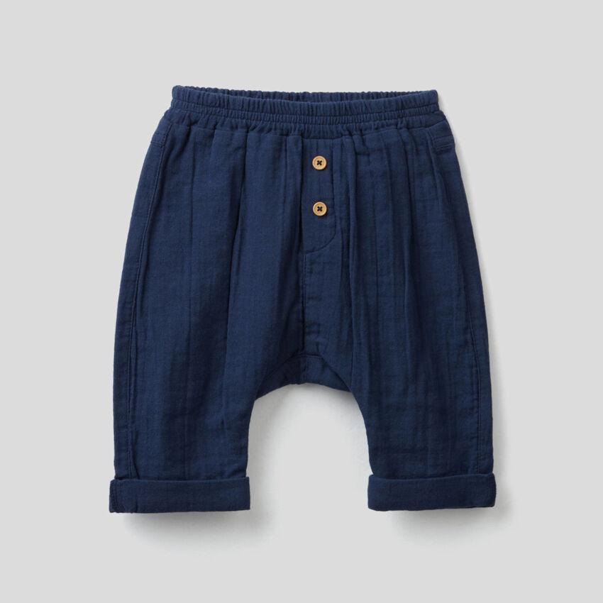 Pantaloni in puro cotone