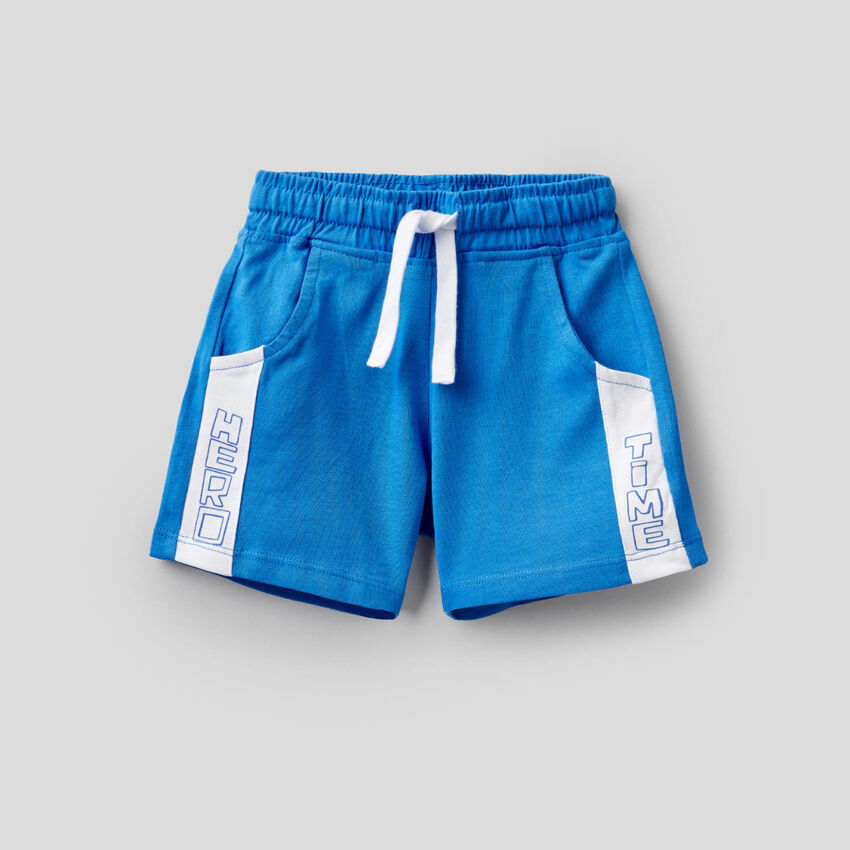 Shorts in 100% cotone