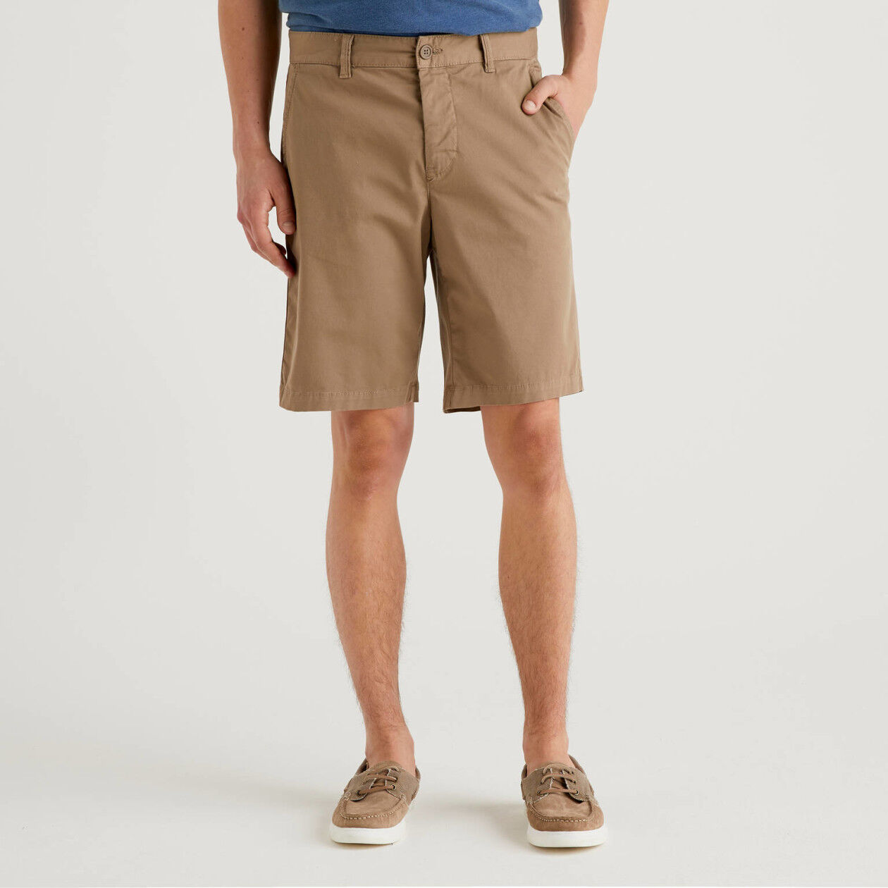Bermuda chino stretch