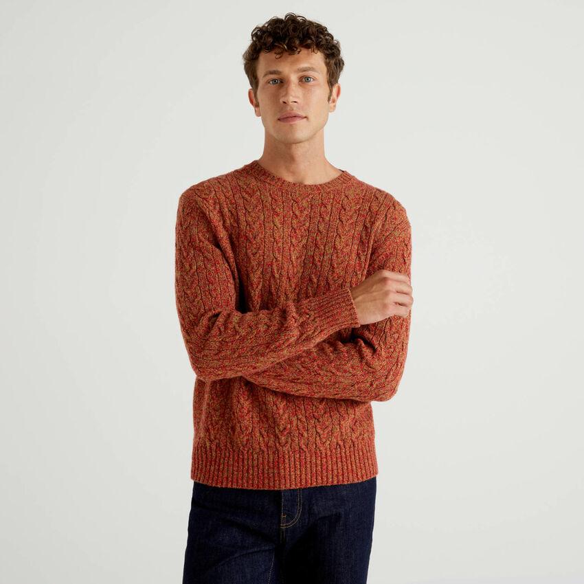 Maglione in pura lana Shetland