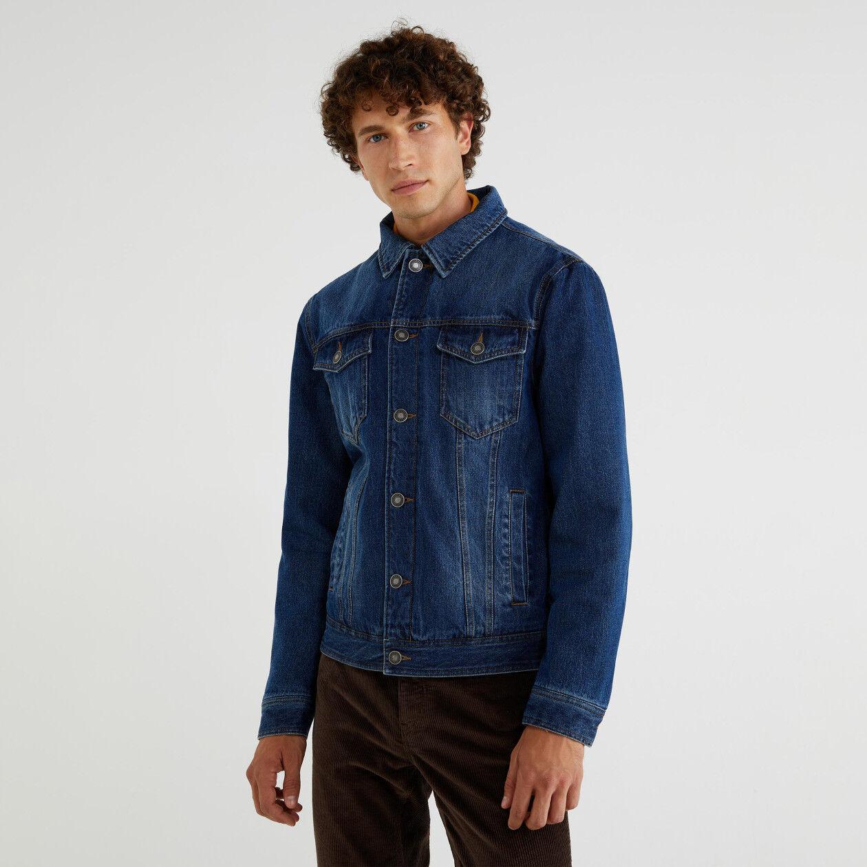 Giubbino di jeans imbottito