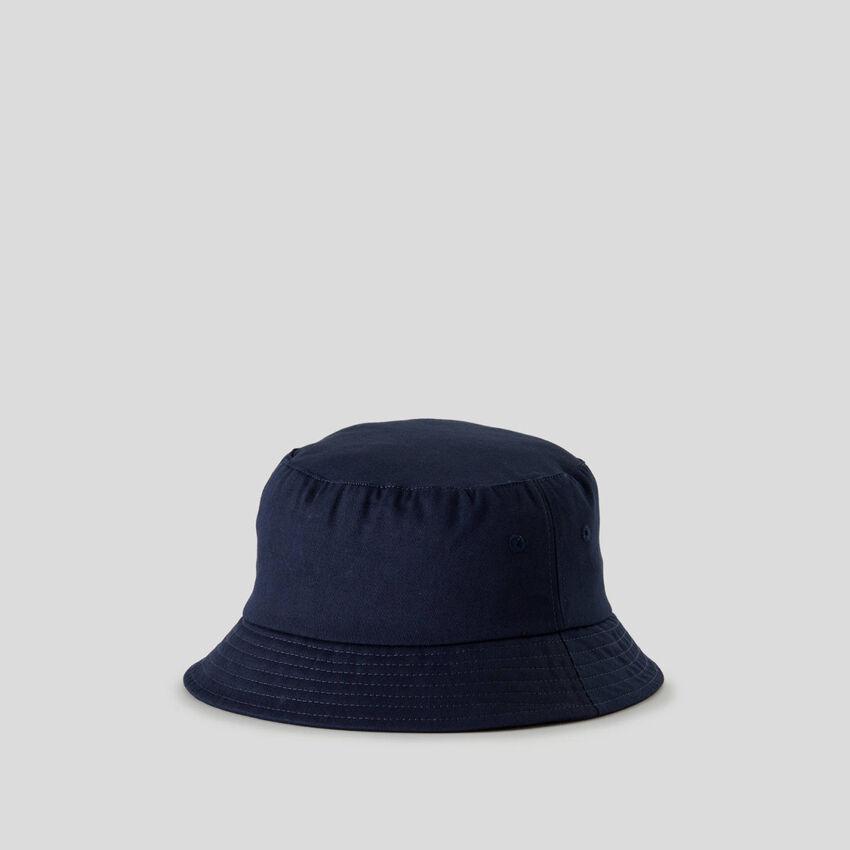Cappello da pescatore in puro cotone