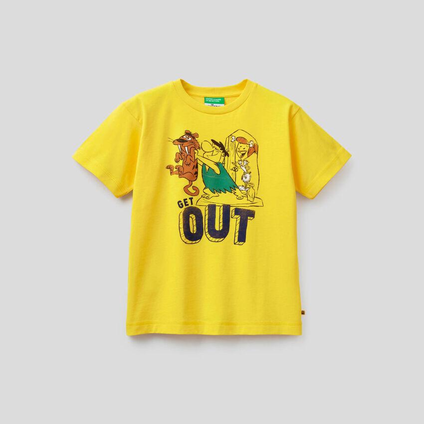 T-shirt I Flintstones in cotone biologico