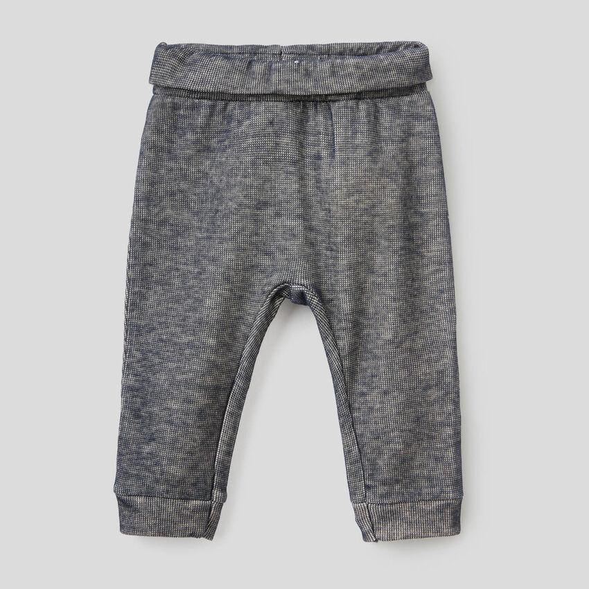 Pantaloni lunghi in felpa
