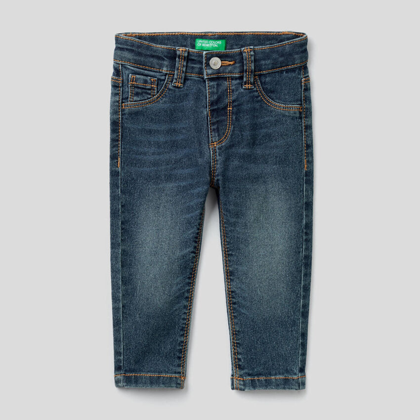 Jeans skinny fit in misto cotone stretch