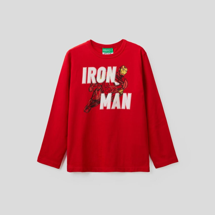 T-shirt Marvel in 100% cotone