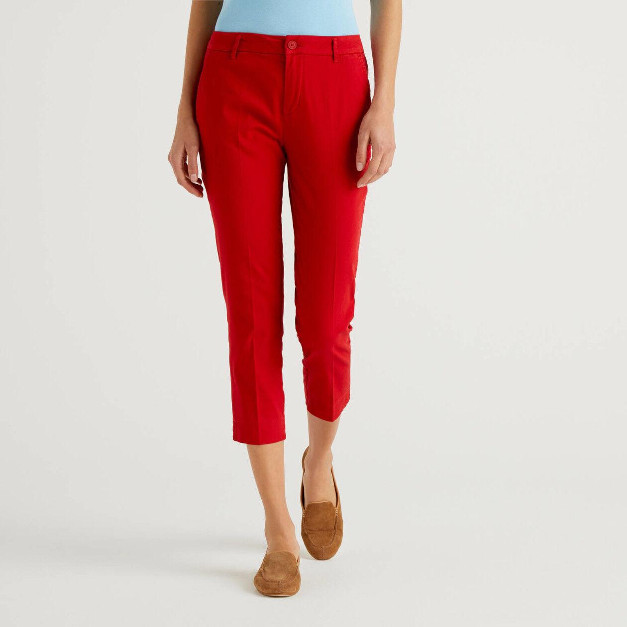 Pantaloni chino stretch