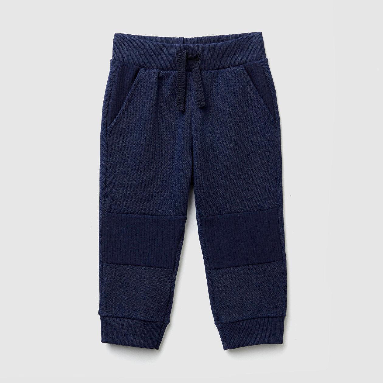 Pantaloni in felpa con inserti
