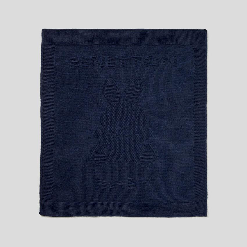 Copertina in misto lana