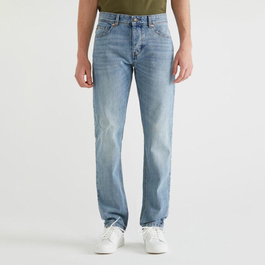 Jeans straight cinque tasche