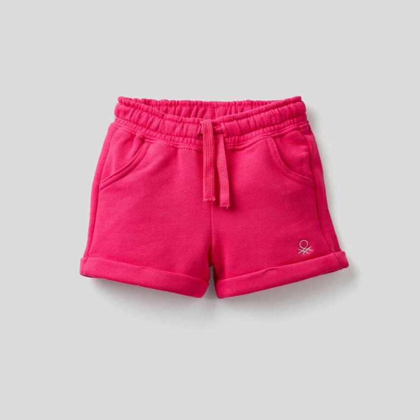 Shorts in felpa leggera