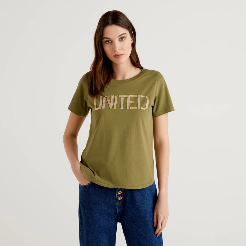 """T-shirt """"united"""" in 100% cotone"""