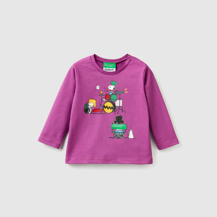 """T-shirt con stampa """"Snoopy"""""""