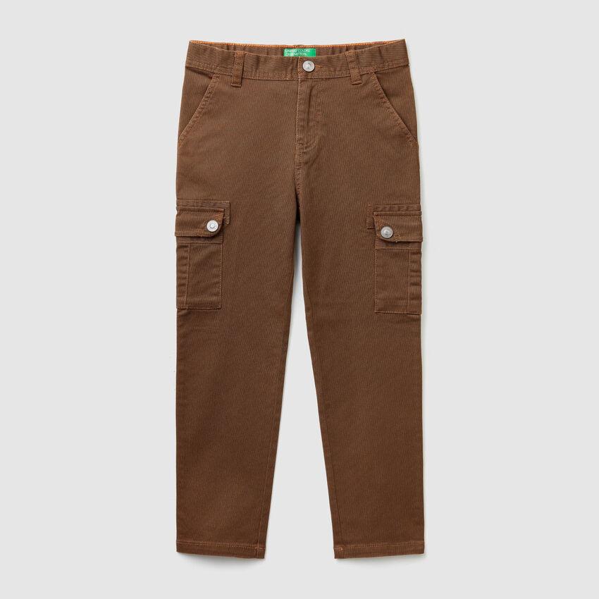 Pantaloni cargo straight
