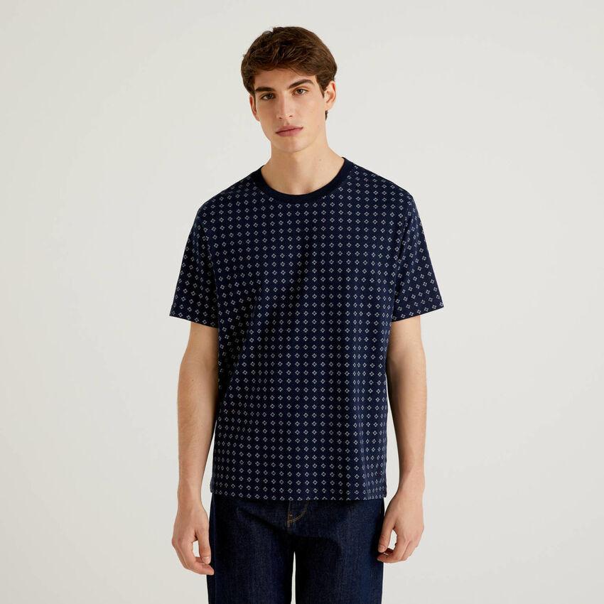 T-shirt fantasia 100% cotone