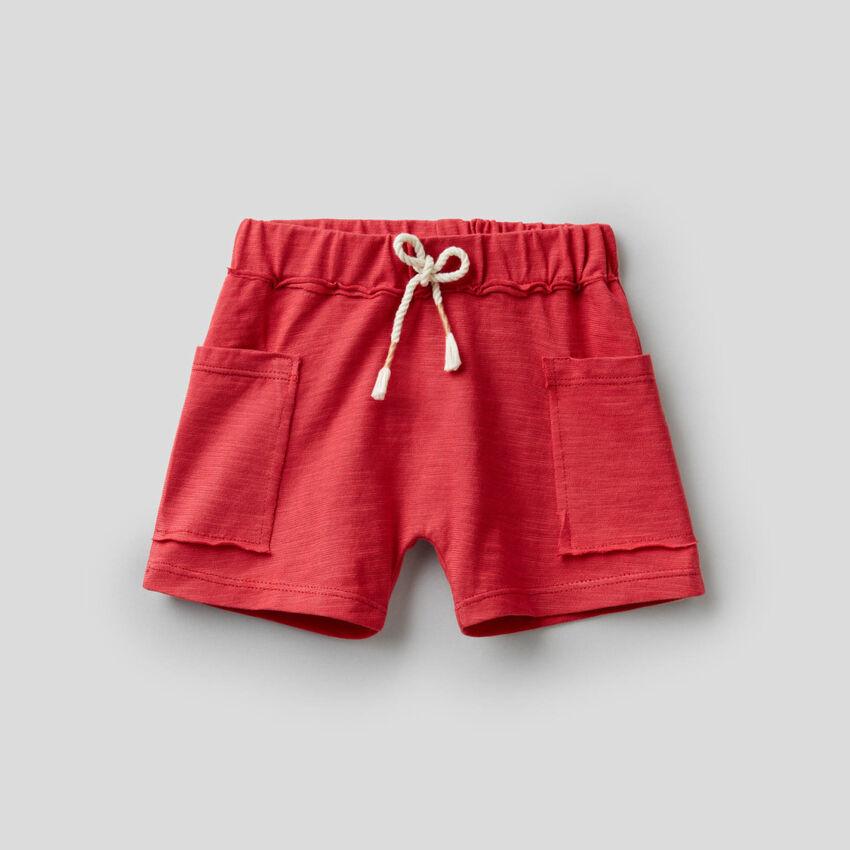 Shorts in puro cotone biologico