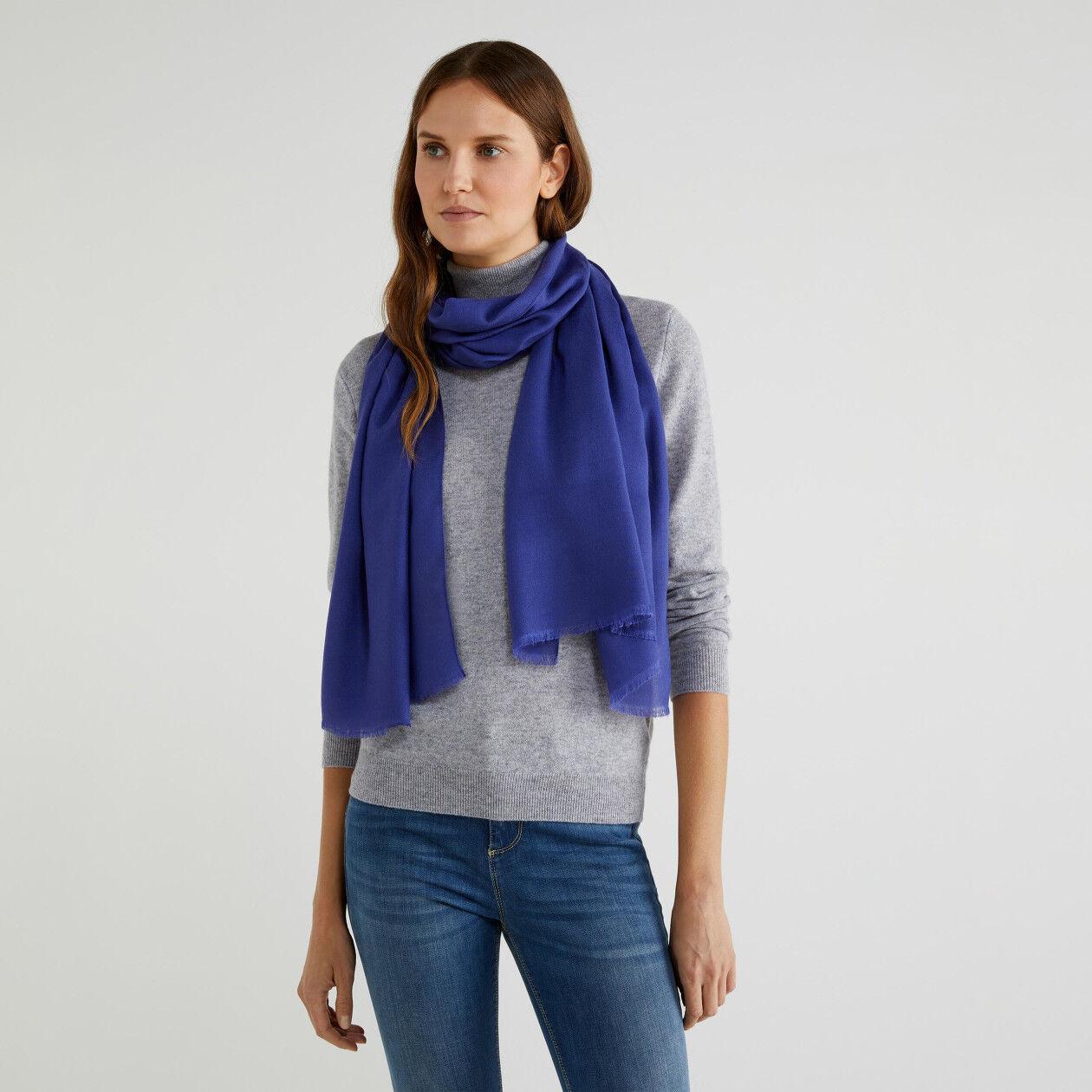Sciarpa in viscosa e lana