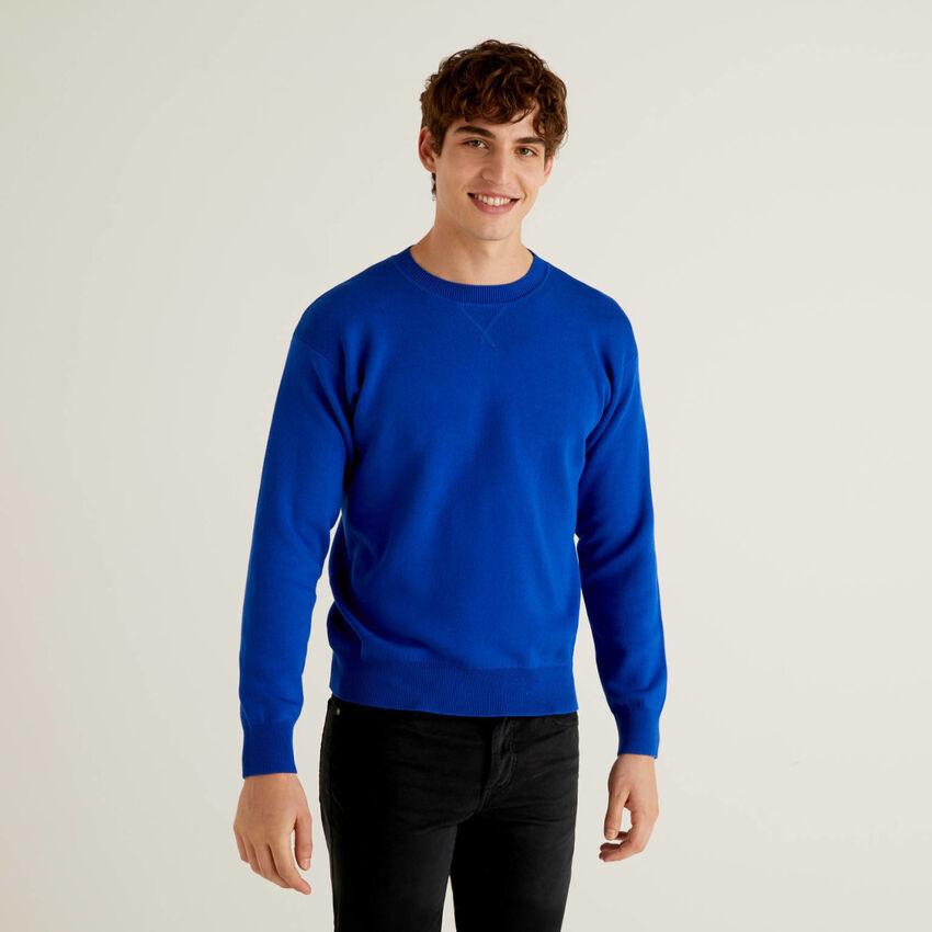 Maglia reversibile in cotone tricot
