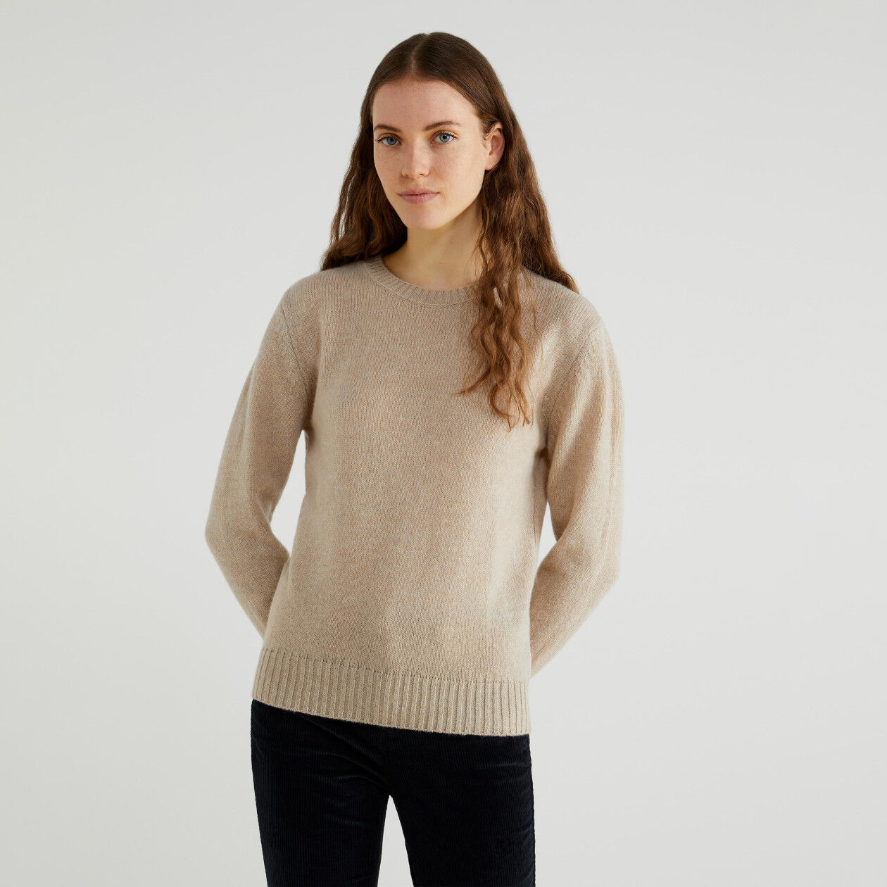 Maglia in lana Shetland