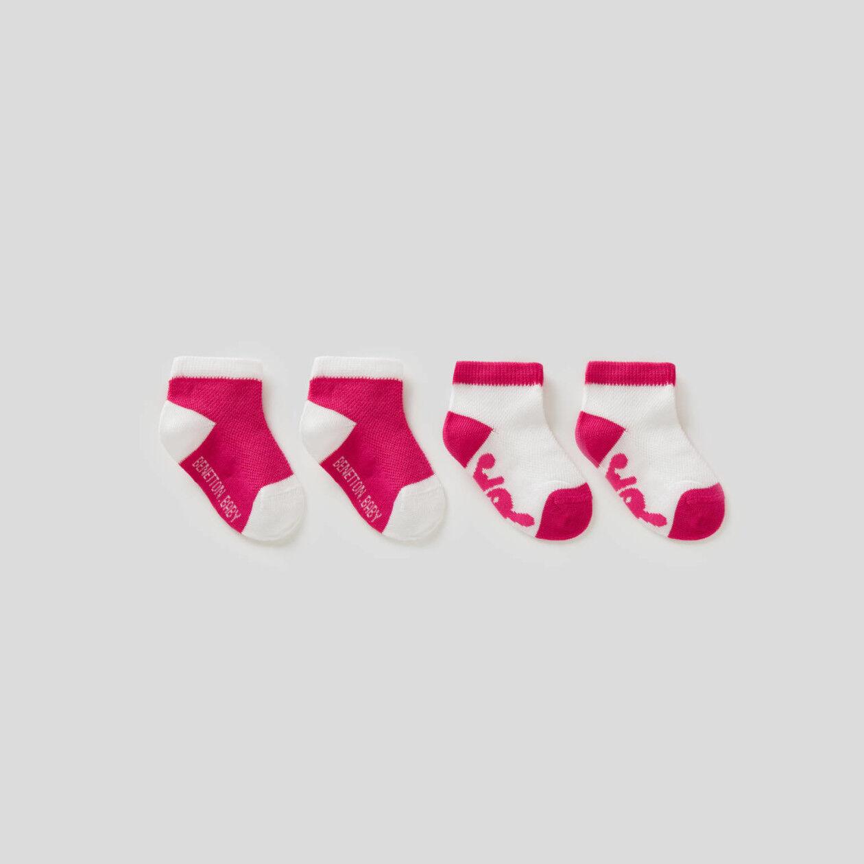 Set calzini bicolor