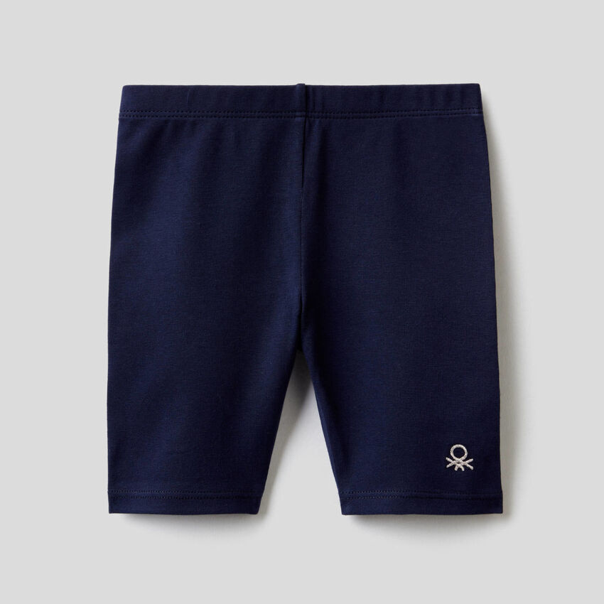 Leggings in cotone elasticizzato