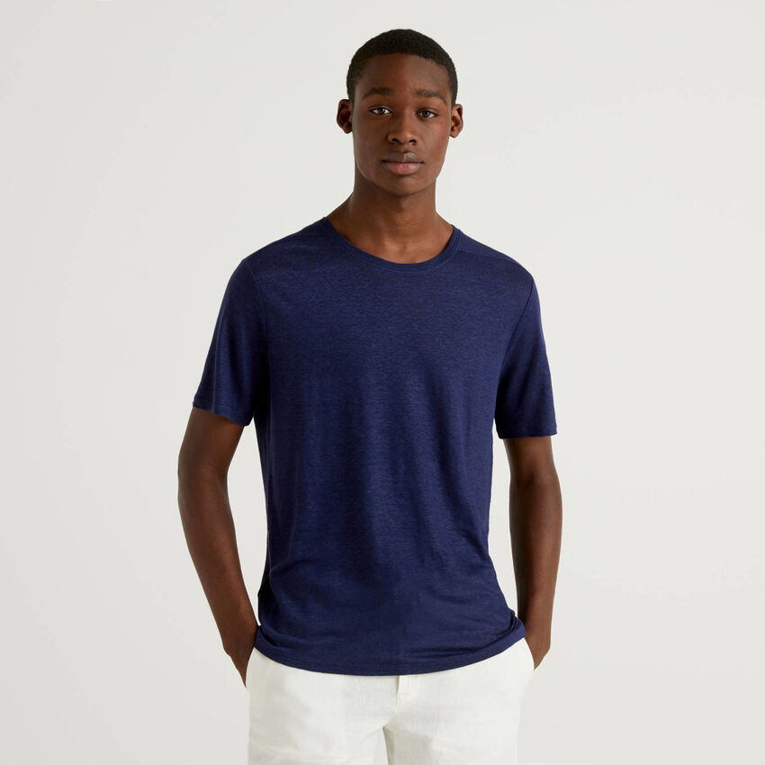 T-shirt in puro lino