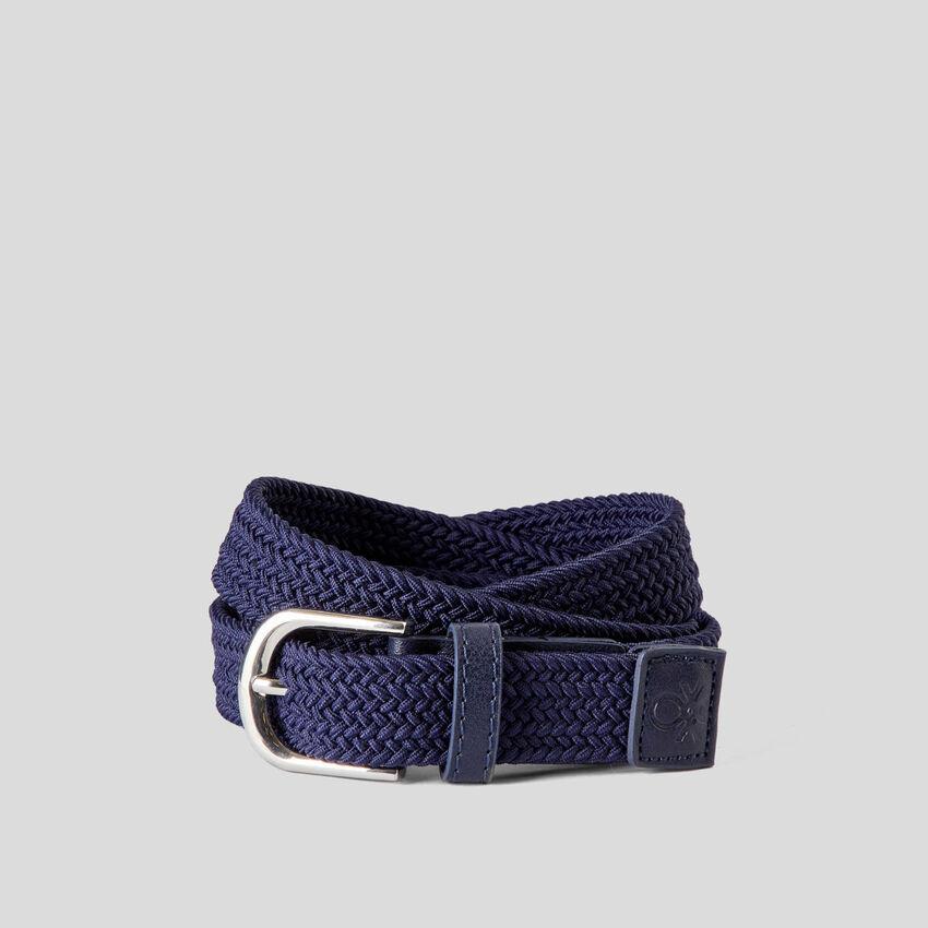 Cintura intrecciata in tessuto