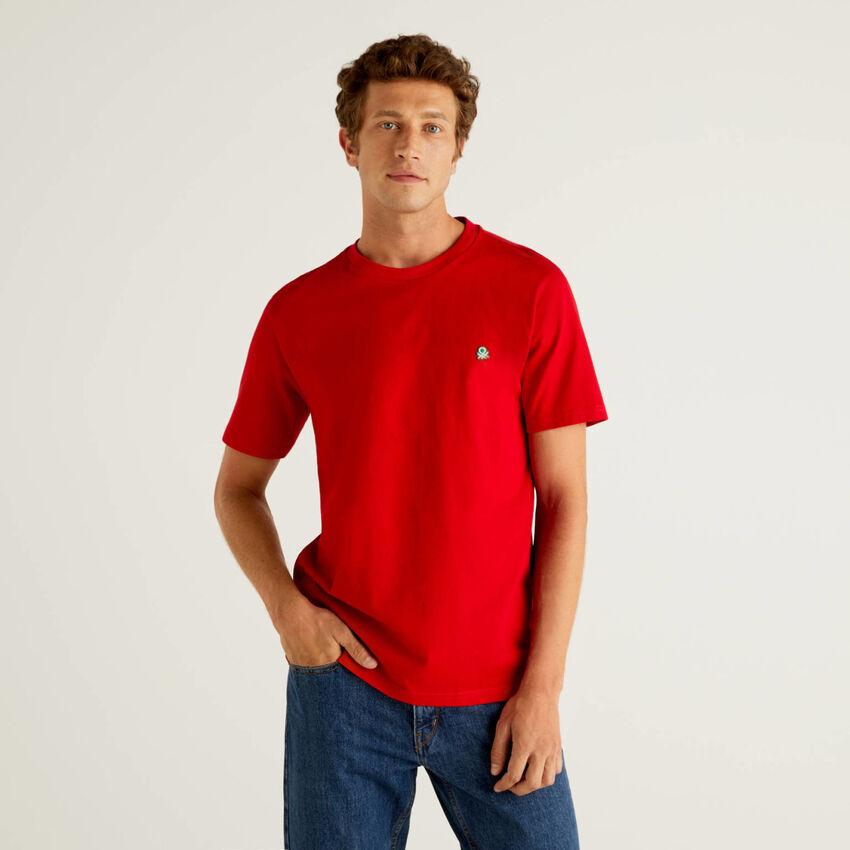 T-shirt basica 100% cotone bio