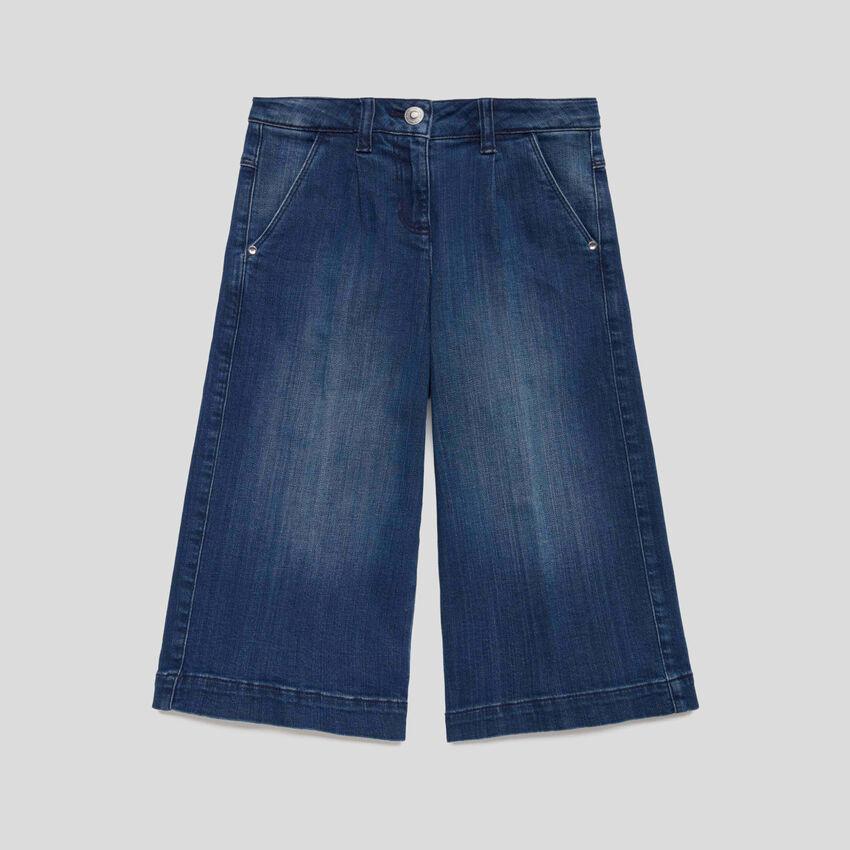 Jeans ampi a 3/4