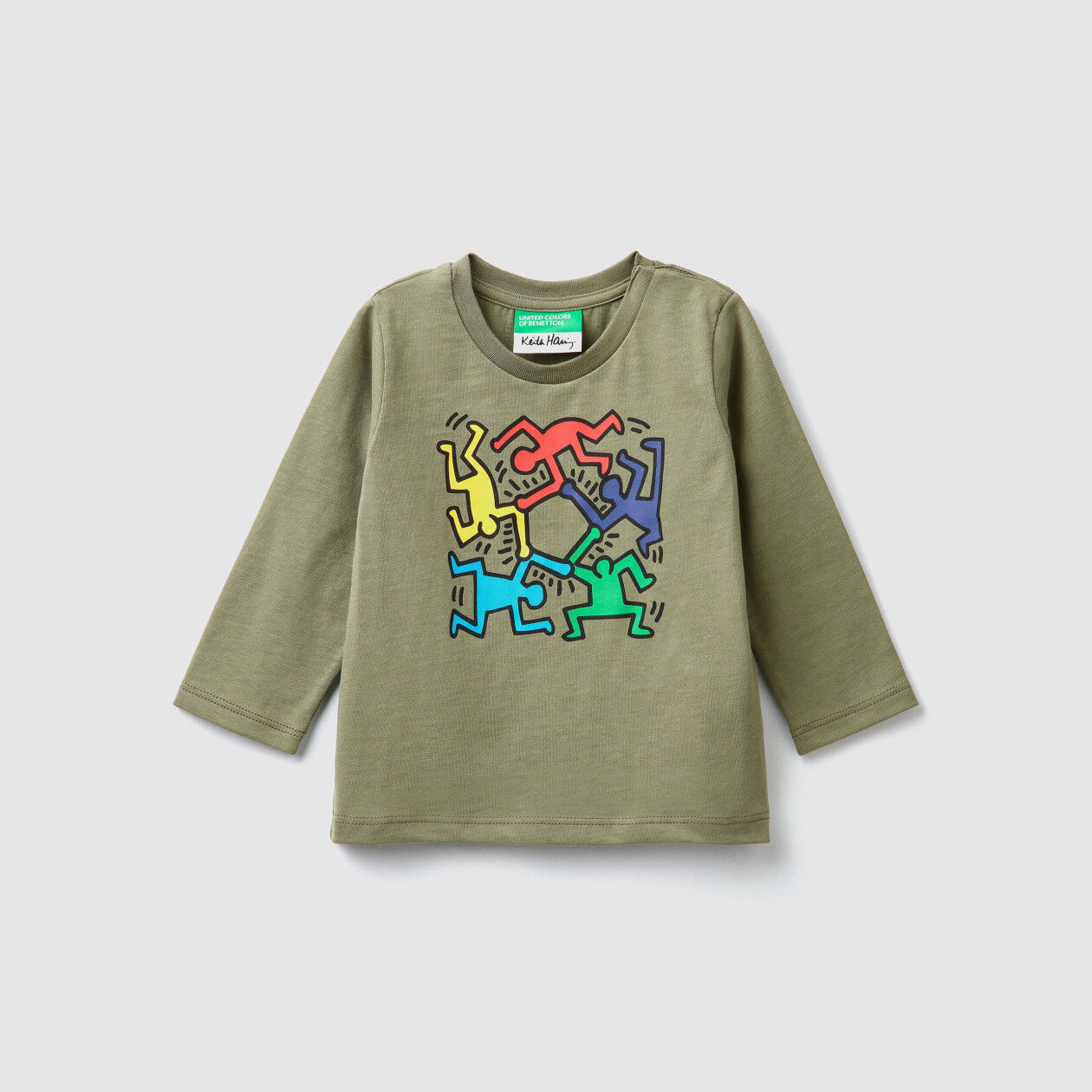 """T-shirt con stampe """"Keith Haring"""""""