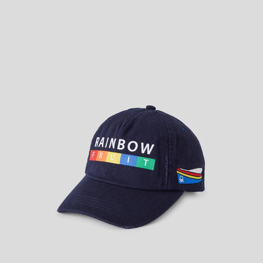Cappellino da baseball blu scuro